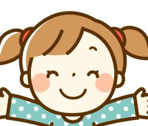 子供 女の子 笑顔