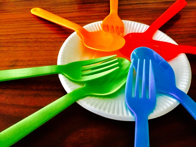プラスチック カトラリー ピクニック