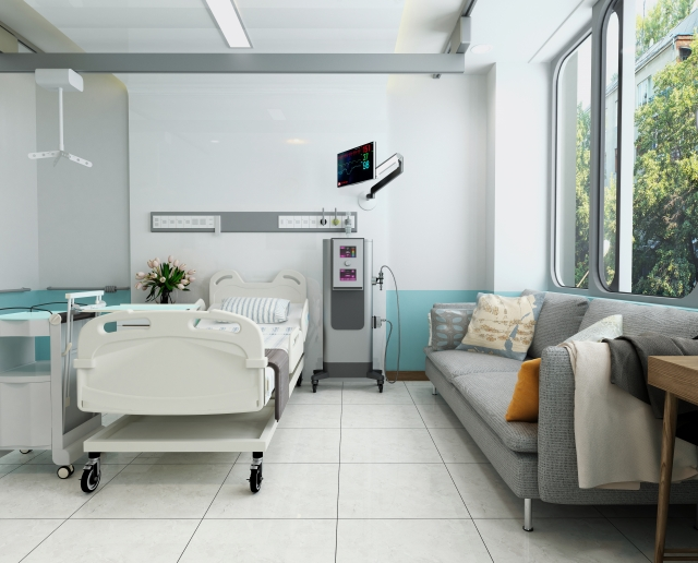 病院 病室 入院