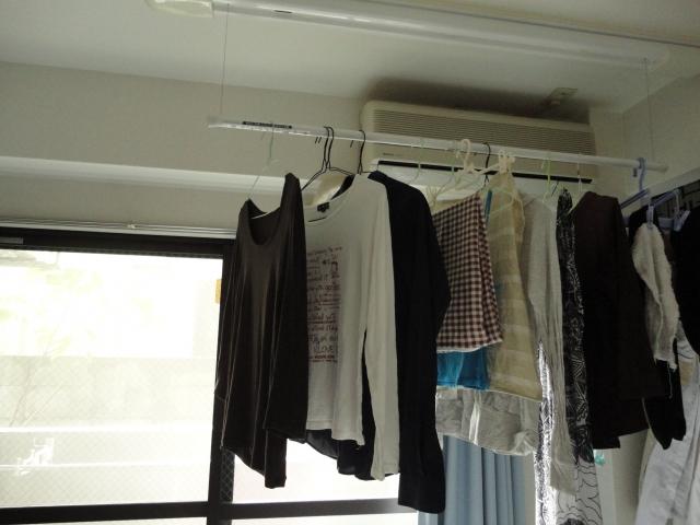 部屋干し 洗濯物 洗濯