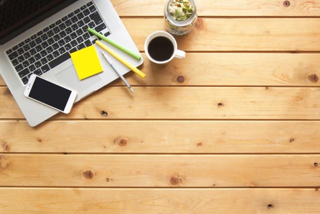 パソコン スマホ 学習 コーヒー