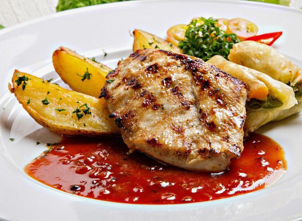 鶏肉 グリル 料理