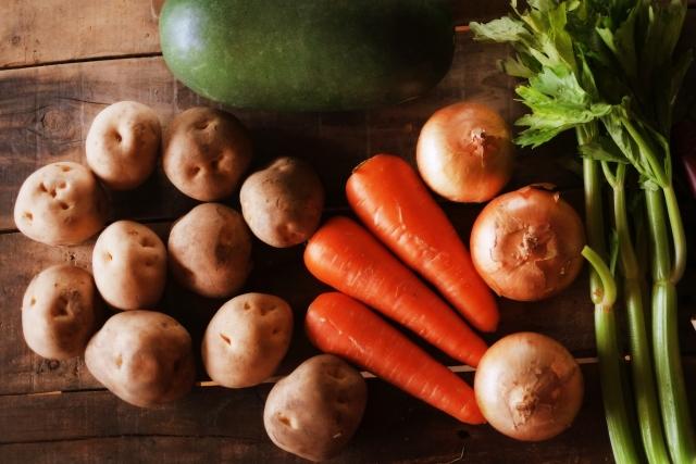 根菜 セロリ 食物繊維 野菜