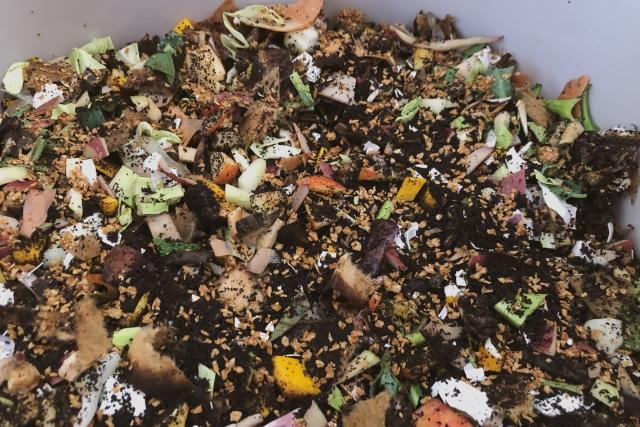 コンポスト 生ゴミ 土 堆肥